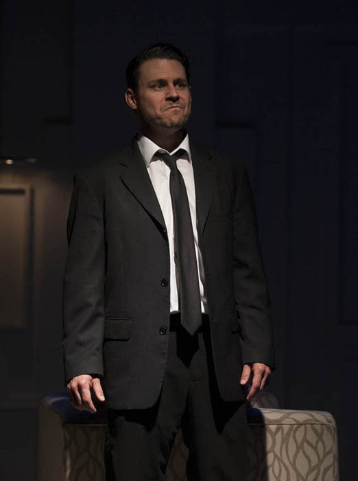 """River City Rep Theater's """"Art"""" photo by Neil Johnson"""