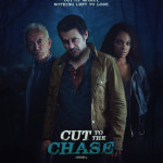 """""""Cut To The Chase"""" Festival poster"""
