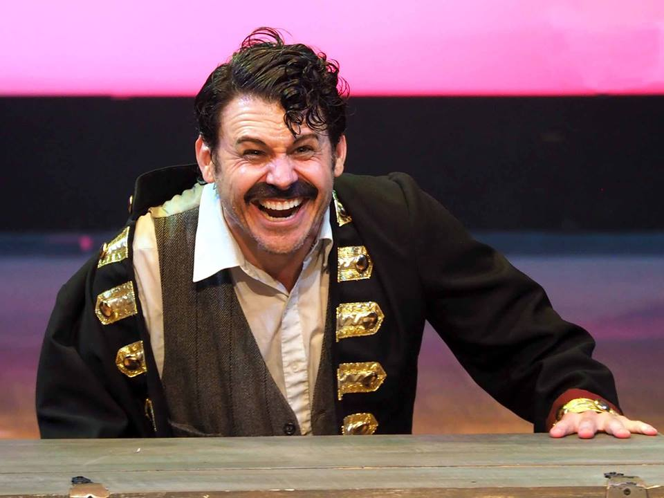 "Captain Black Stache in Stage Center production of ""Peter and The Starcatcher"""